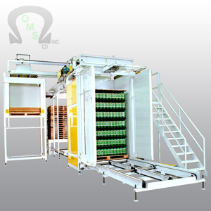 Ouellette Machinery Systems depalletizing systems are cost effective to maintain