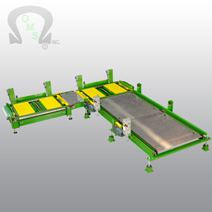 OMS are the world leaders in Pallet Load Conveyor systems