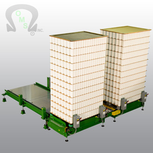 You will find OMS' Pallet Load Conveyor both efficient and easy to use
