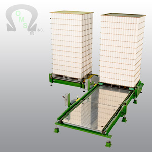 80% of OMS Pallet Load Conveyor system owners do not buy their parts from us. We use standard parts in all of our systems